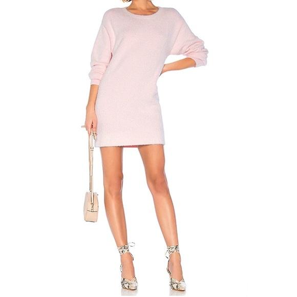 NEW House of Harlow Revolve Tonya Sweater Blush L